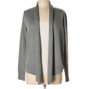 Remade Open Front Cardigan Gray NWT - M